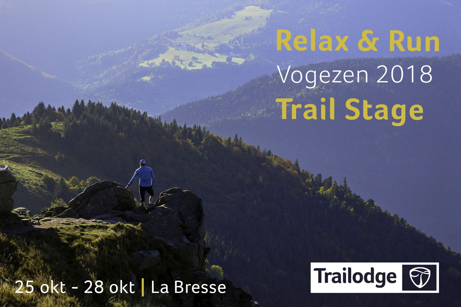 Banner Trailodge Relax & Run Stage Vogezen 2018